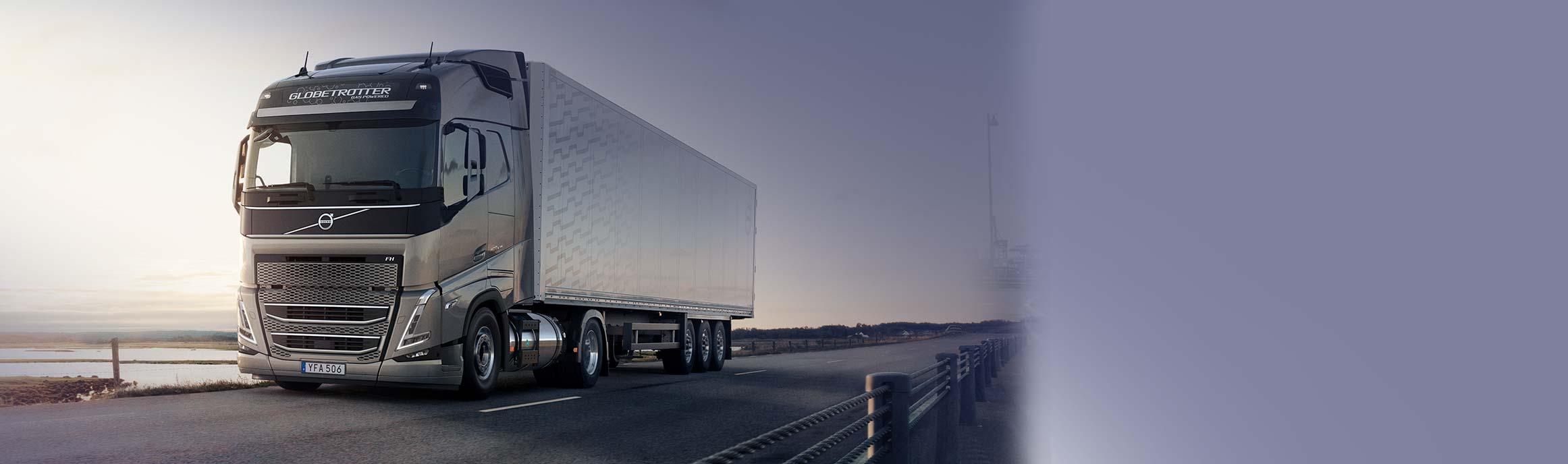 Volvo LNG Trucks bij BAS Truck Center