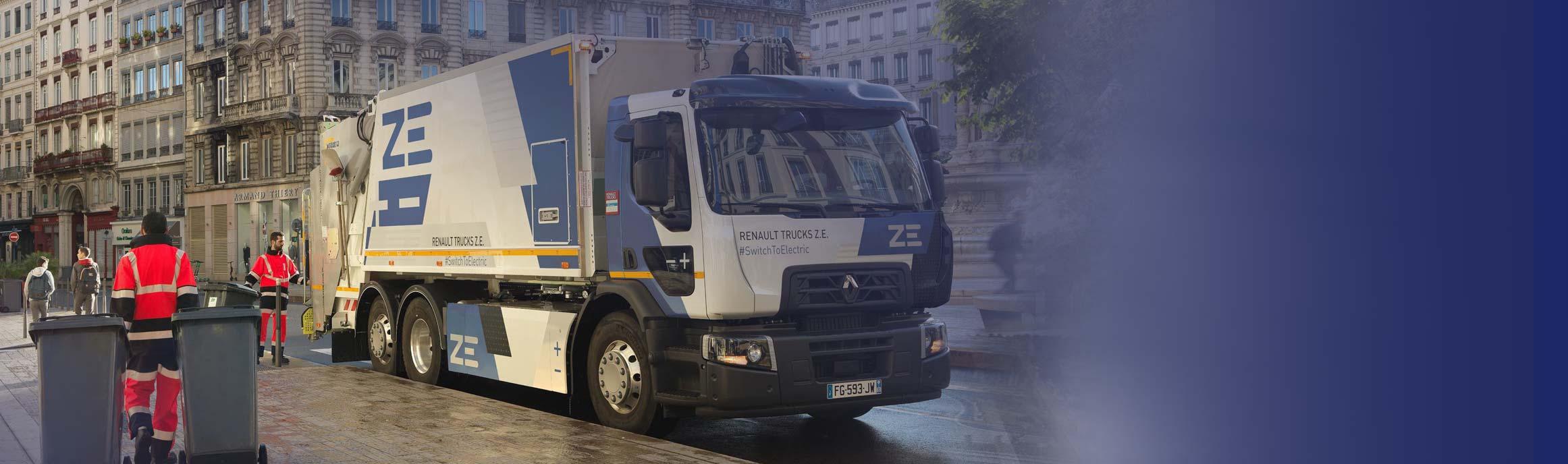 Renault D Z.E. bij BAS Truck Center