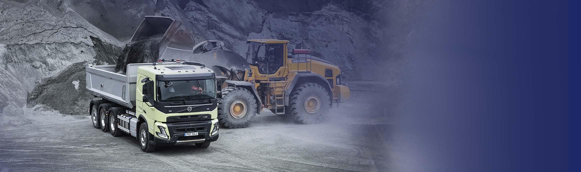 Volvo FMX bij BAS Truck Center