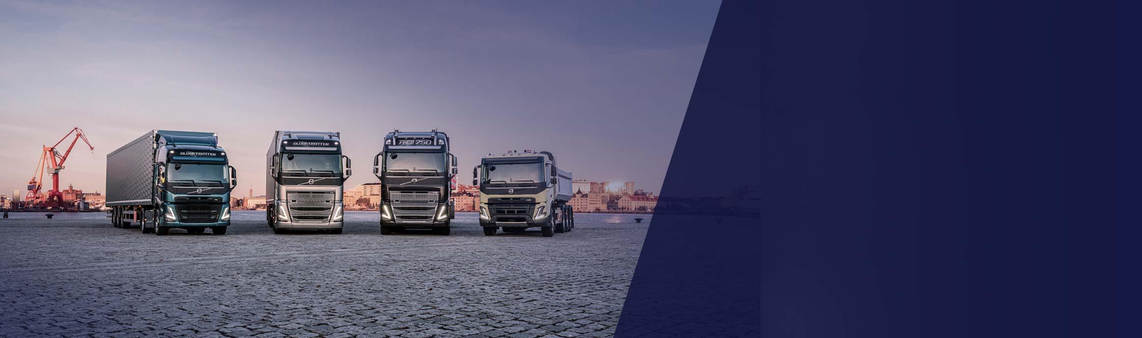 Volvo trucks range 2020