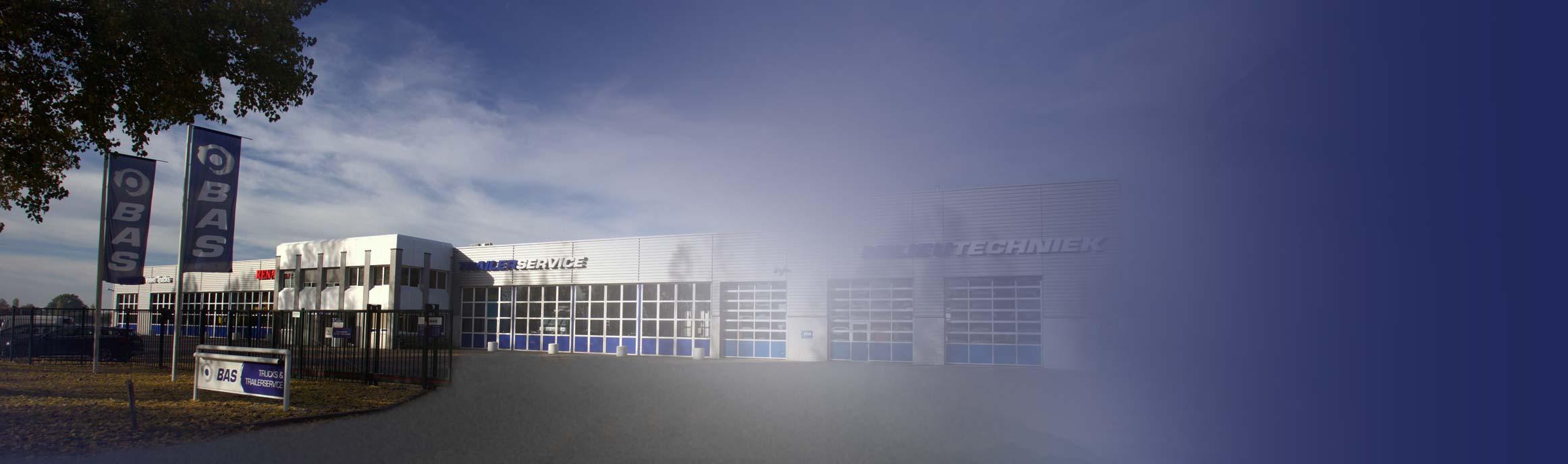 BAS Truck Center vestiging Nijmegen