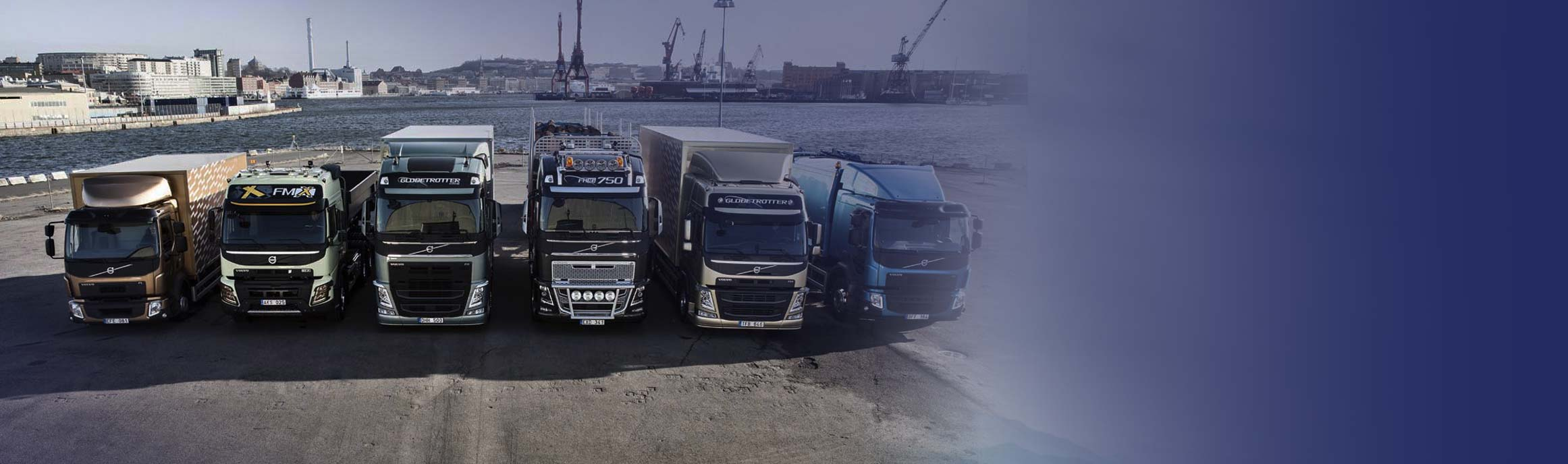 Volvo product range bij BAS Truck Center