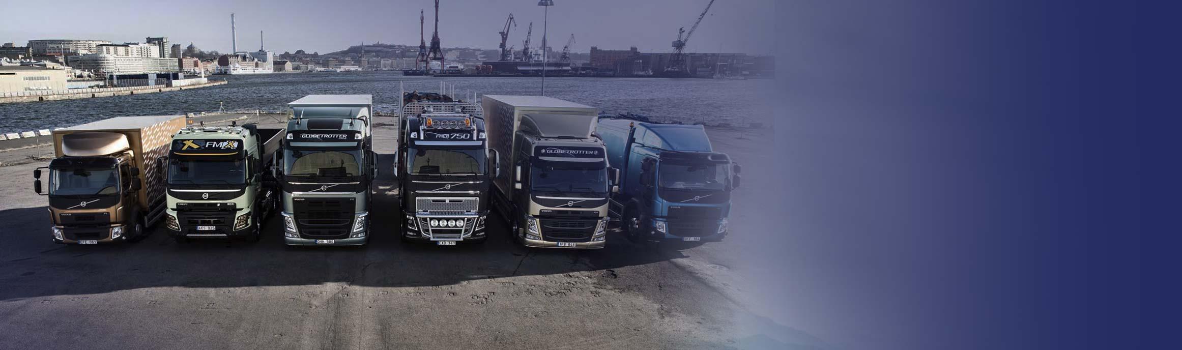 Volvo Trucks huidige modellen