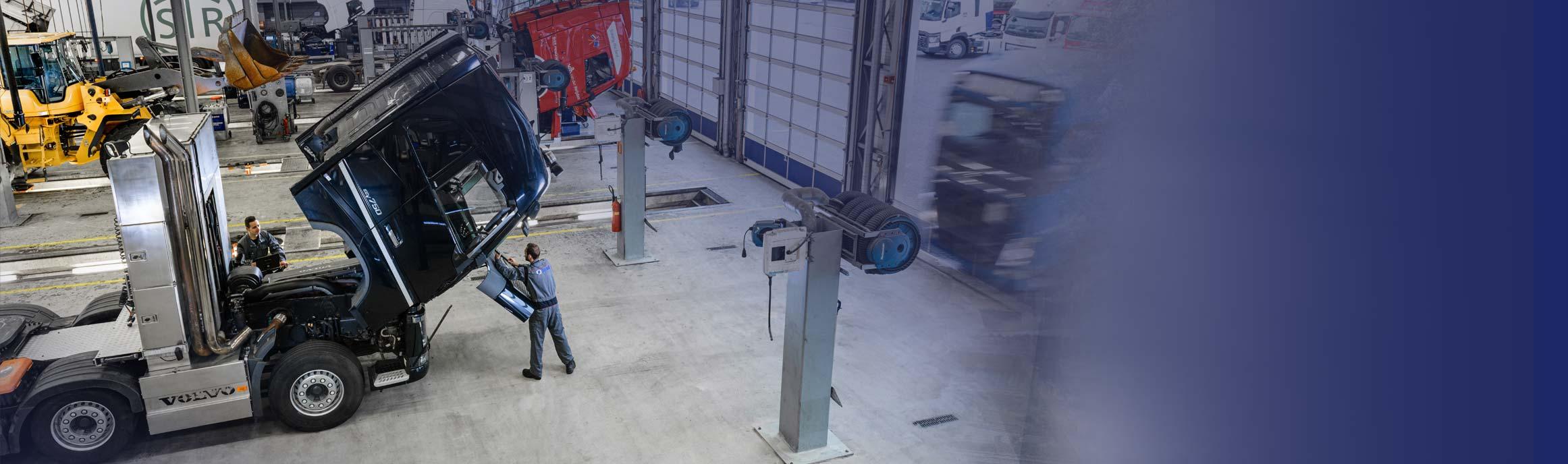 Truck reparatie en onderhoud bij BAS Truck Center