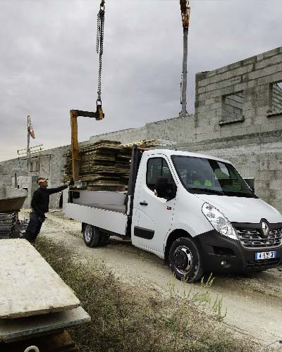 Renault Master Chassis in de bouw