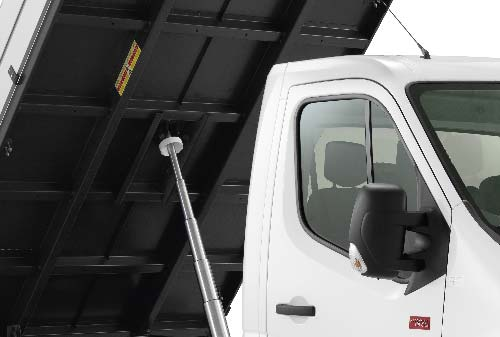Renault Master Chassis close-up