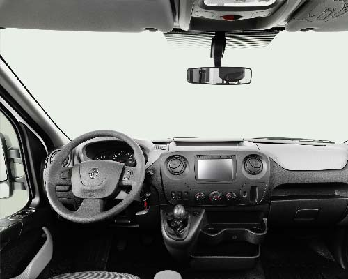 Renault Master Chassis dashboard