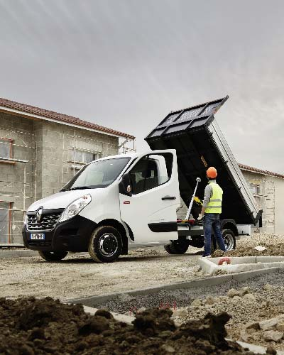 Renault Master Chassis kipper