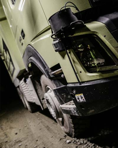 Volvo FMX close-up