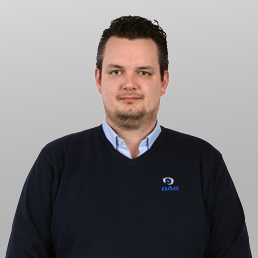 Contact met Roy Woltman, Service Coördinator bij Bas Truck Center