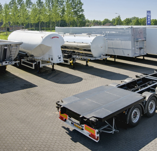 Trailers bij BAS Truck Center